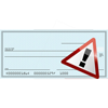 Cheque Overpayment Scam Icon