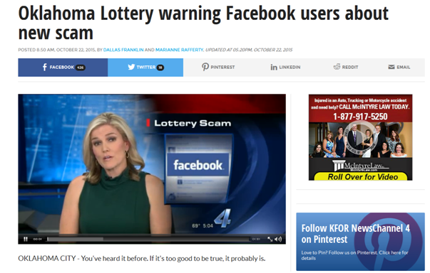 facebook sweepstakes scams facebook scams asking for money fake duplicate accounts 6220