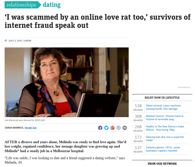 Online Dating Scams And Wire 3