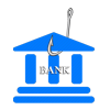 Bank and Phishing Scam Icon