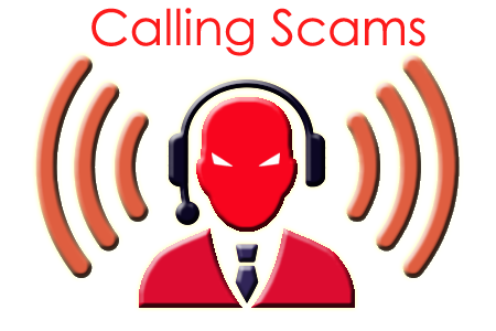 Calling Telephone Scams