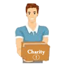 Charity Scam Icon