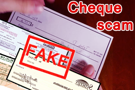 Beware of Check scams