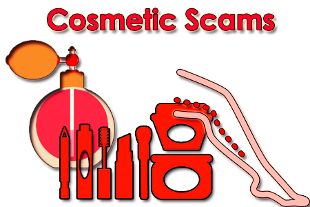 Cosmetic Products scams