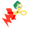 Electricity Scam Icon