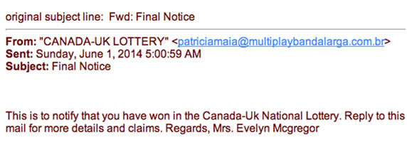 International Foreign Lotteries Scams | Lottery Fraud cases