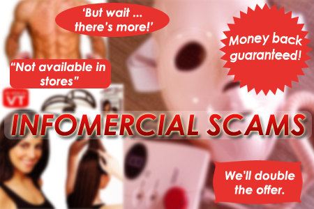 Beware of Infomercial Scams