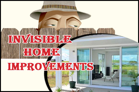 Invisible home improvements scam
