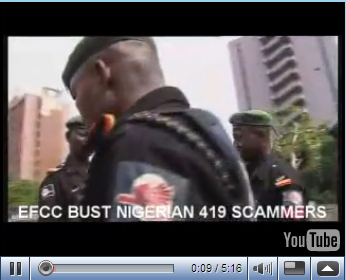 Busted Nigerian Scammers