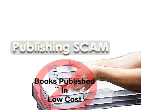 Publishing scam