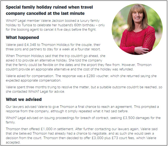 Special Family Holiday and Travel Scam