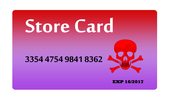 Store Card Scams