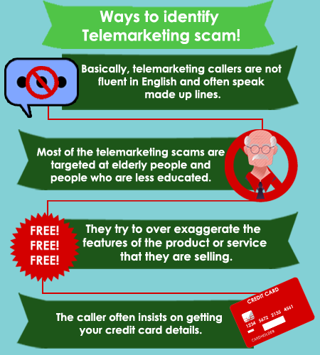 Ways to Identify Telemarketing scams