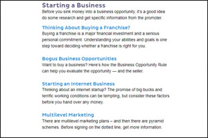 steps for business opportunities