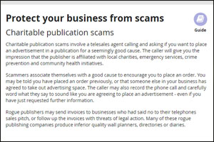 Protect your business from scam