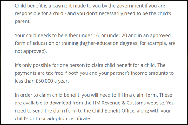 Child Benefit Scams | Adoption, Abduction, Modeleling Fraud