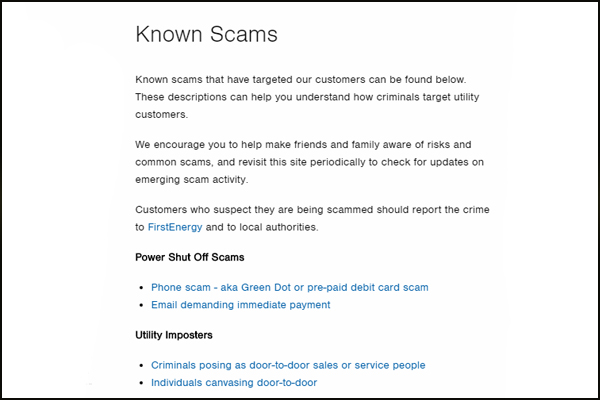 Electricity Scams | Electricity Meter fraud | Consumers beware