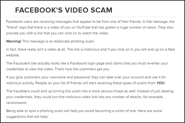 Facebook Scams | Asking for Money | Fake Duplicate Accounts