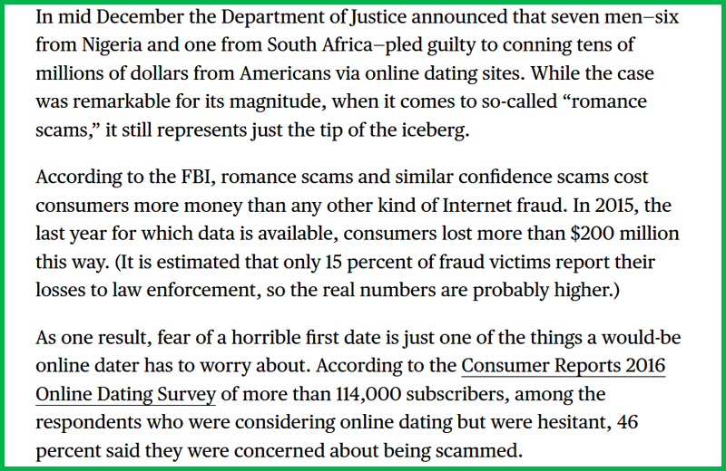 report online dating scams My collection of useful links and resources on dating scams, where to report the dating scam.