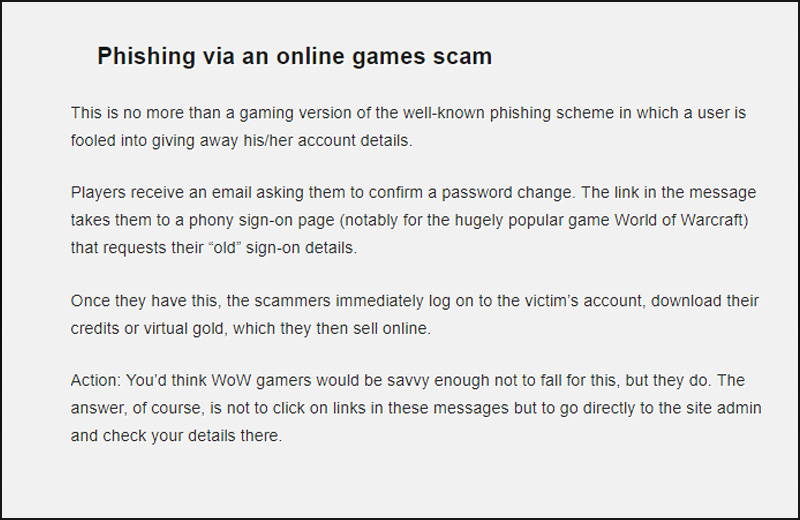 Online Gaming Scams | Gaming sites, online fraud, fake software