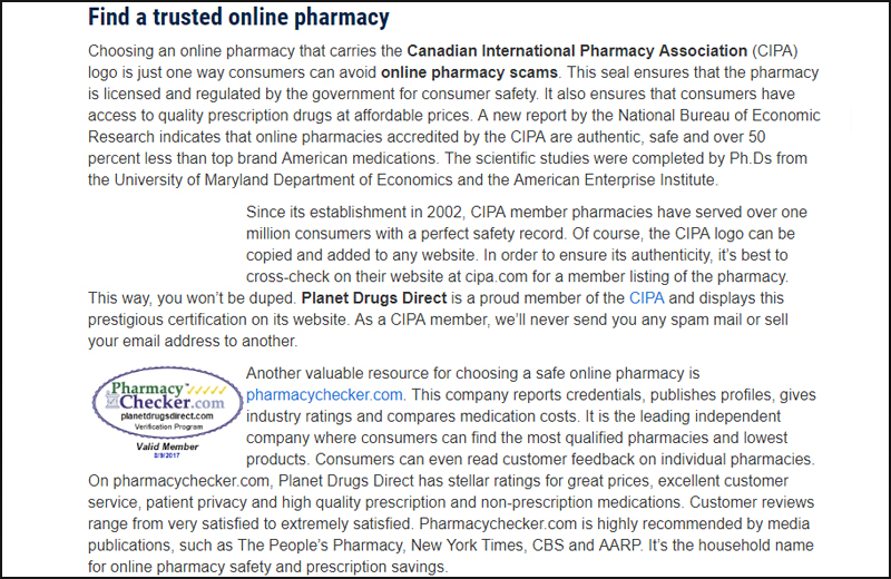pharmacy scams fake drugs scam on internet